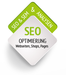 SEO Optimierung f�r Webseiten, Shops, Pages. SEO & SEM, inkl. Analysen.